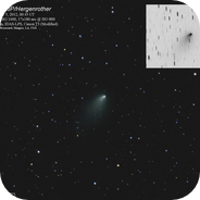 Comet 168P/Hergenrother on Nov 5, 2012