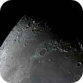 Moon Composite of the region North Pole / Mare Imbrium