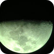 The moon from iphone