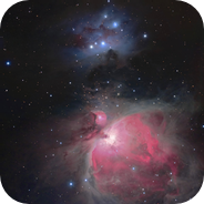 Orion Nebula & Running Man Mosaic