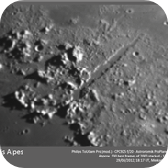 Moon - Vallis Alpes region.