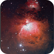 The great Orion Nebula - H-RGB