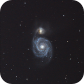 m 51 3x drizzle from a custom rectangle in DeepSkyStacker
