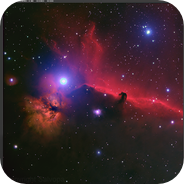 Ic434 & Ngc2024 Horse and Flame nebula