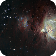 The Great orion Nebula - Halpha\SII\OIII
