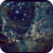 Inside the Rosette Nebula