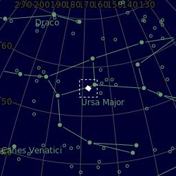 Astrobin skyplot for M108