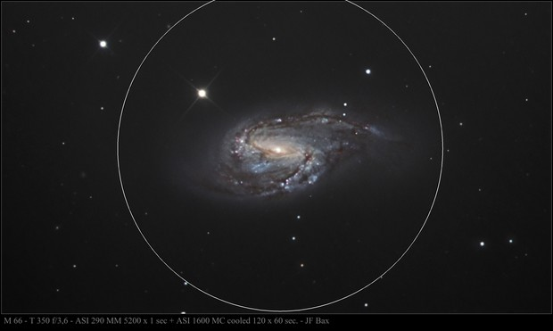 M 66 Galaxy