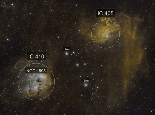 IC405/IC410 Bicolor Wide Field