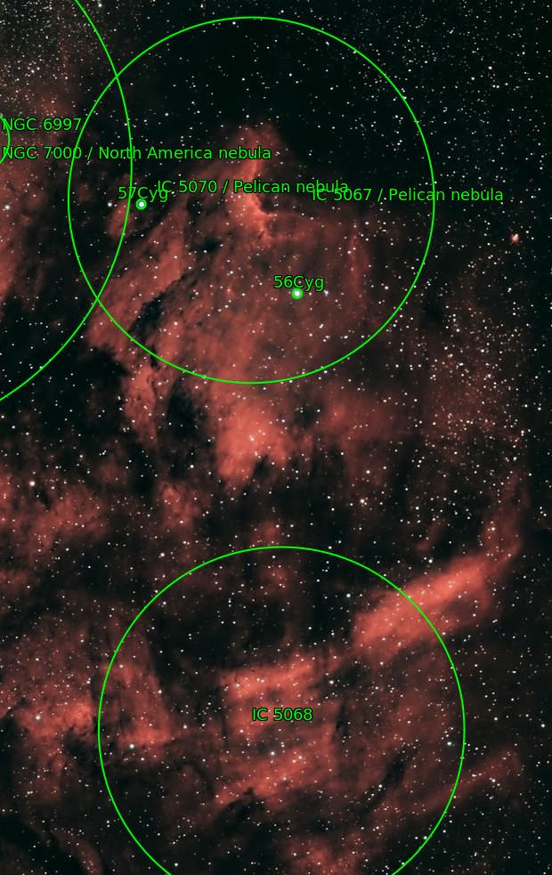 IC5067 - La nébuleuse du Pélican