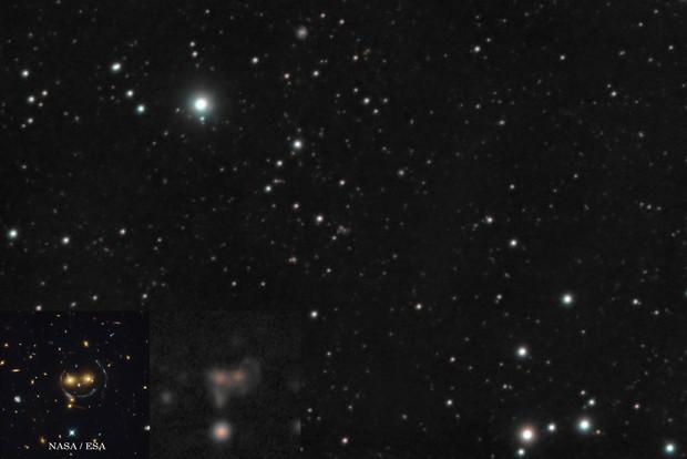 SDSS J1038+4849 Smiling lens