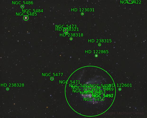 M101 Widefield (HaRGB)