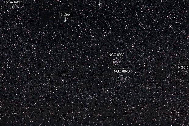 Fireworks and NGC6939