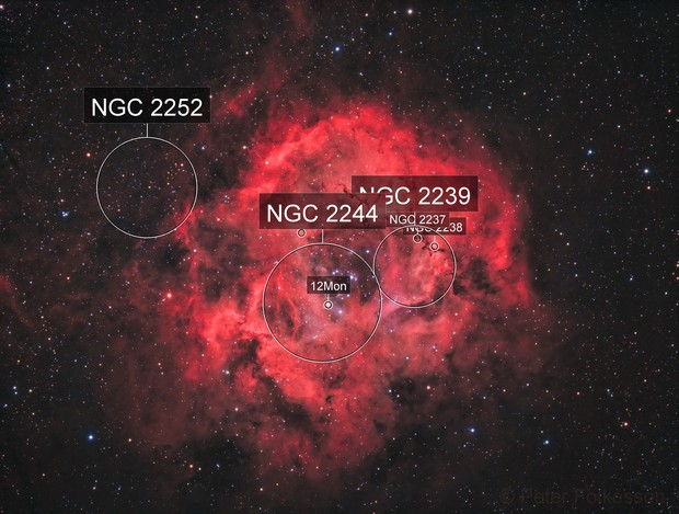 NGC2237/2244 Rosette Nebula – 2017