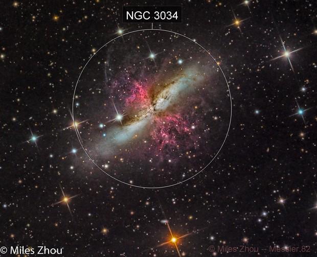 Messier 82 (Cigar Galaxy) @ DSW