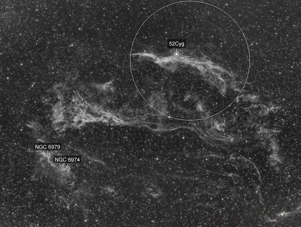 NGC 6960 in Ha