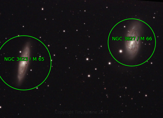 M65 with SN2013am & M66