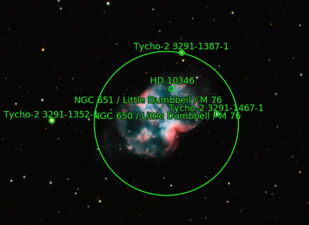 M76 - The Little Dumbell Nebula