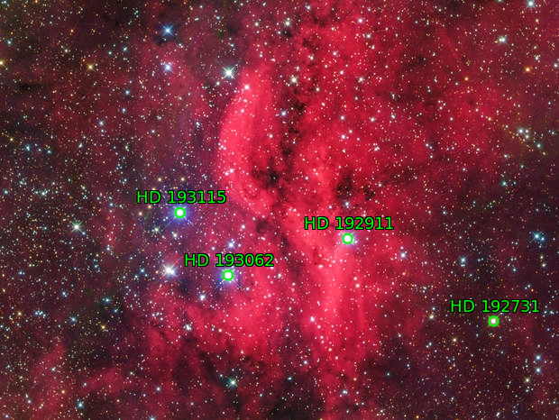 DWB 111 Propeller Nebula