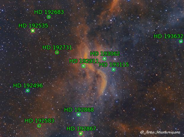 DWB 111, Propeller Nebula in Cygnus