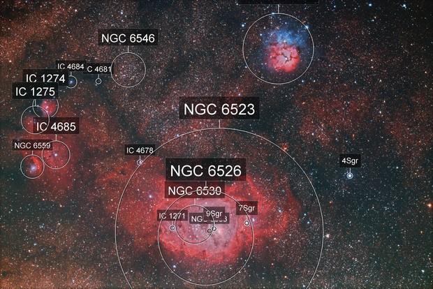 Jewels in Sagittarius
