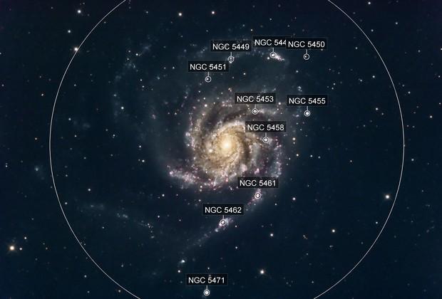 Pinwheel Galaxy (M101) in LRGB