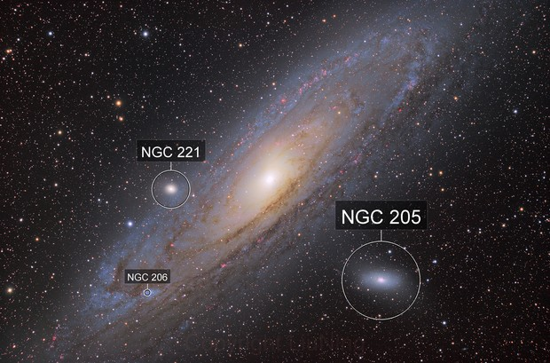 M31 Andromeda Galaxy HaLRGB