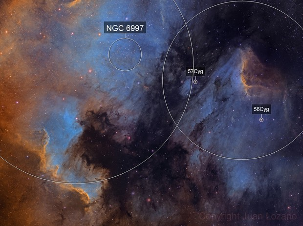 NorthAmerica and Pelican Nebula NB
