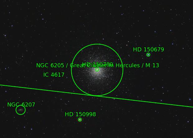 Great Hercules Cluster, M13