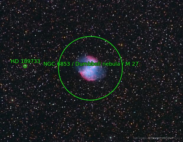 2013-06-07 Messier 27, Dumbbell Nebula, cropped