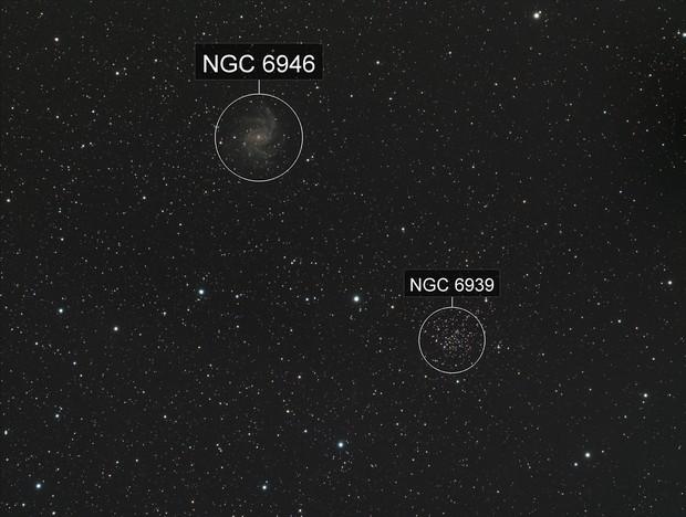 NGC6946 NGC6939
