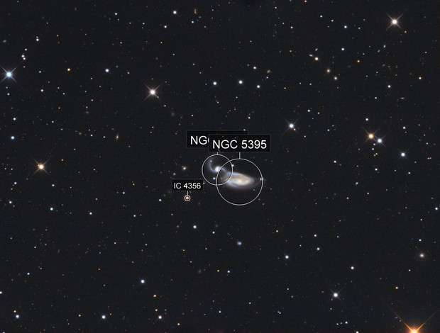 NGC5395 & NGC5394