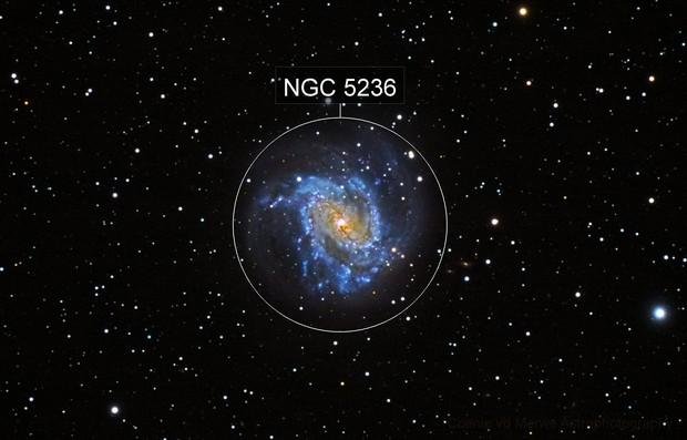 M-83 Southern Pinwheel Galaxy