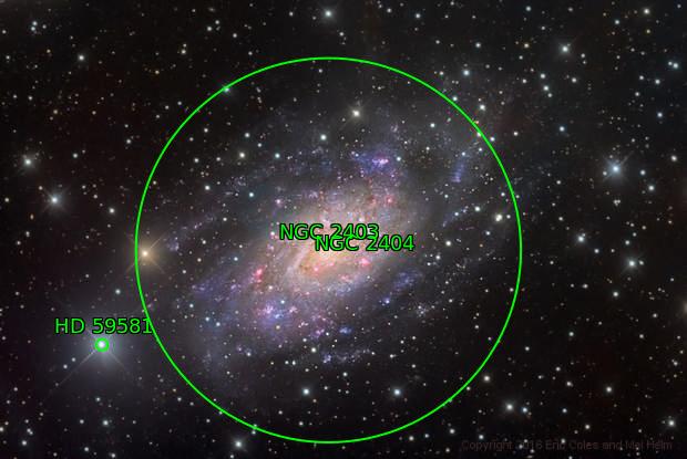 NGC 2403 HaLRGB Image