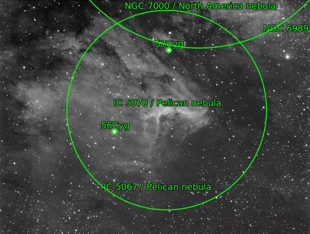 IC5070 (Pelican Nebula)