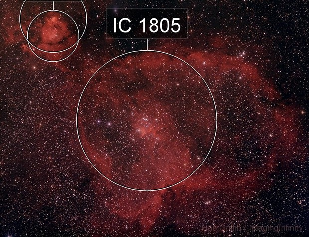 IC 1805 - The Heart Nebula in Cassiopeia