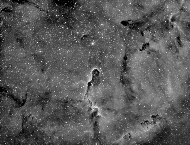 Elephant Trunk Nebula (IC1396) in Hα