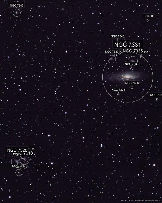 NGC 7331 Deer Lick Group
