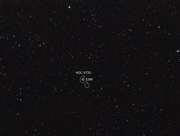 Ring Nebula with 102mm APO