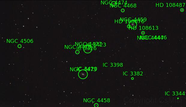 NGC 4473 - 4477