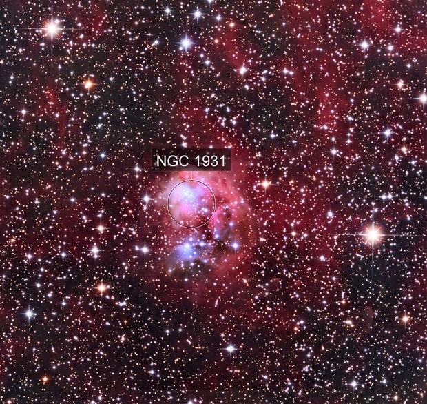 Fly Nebula - Sharpless 237