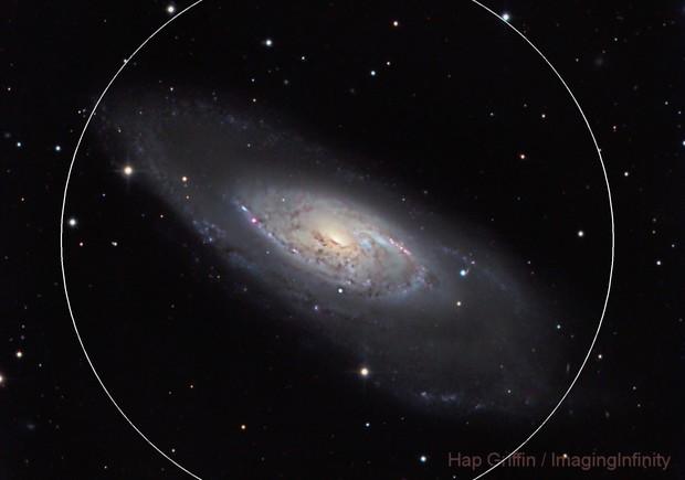 M106 - Spiral Galaxy in Canes Venetici