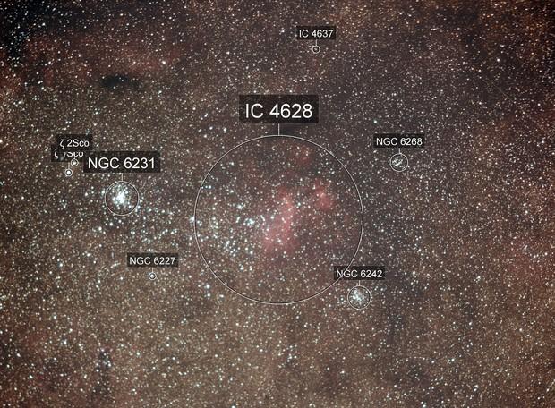 Zeta Sco and IC 4628