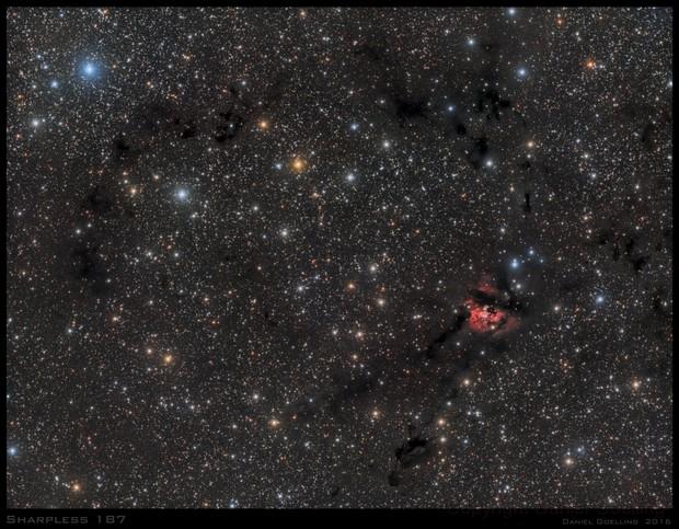 Sh2 - 187  Cosmic Spider