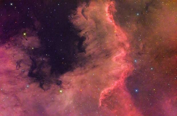"""The Cygnus Wall """"NGC7000"""""""