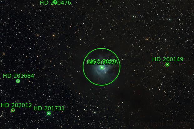 NGC 7023: Nébuleuse de l'Iris