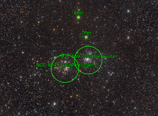 Ngc 869/884 Double Cluster