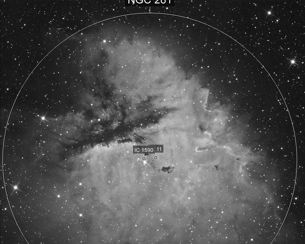 NGC281 Pacman HA