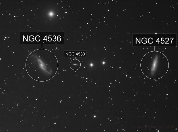 NGC 4536 & NGC 4527