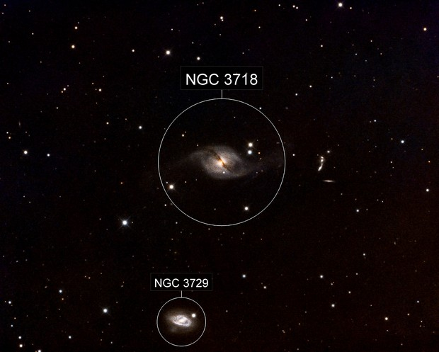 UGC6524 (NGC3718) in LRGB